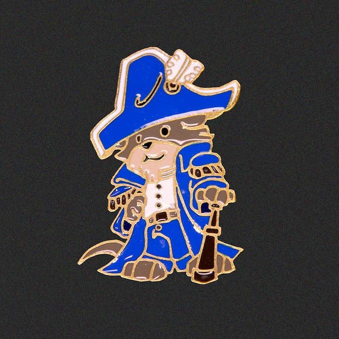 Captain Kelpington pin