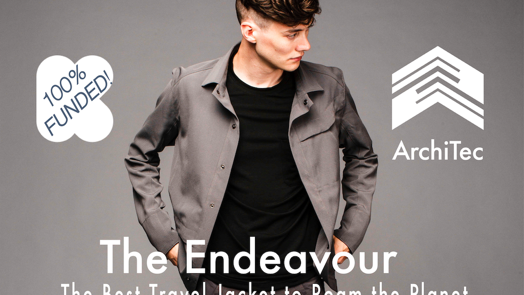 Endeavour Travel Jacket| Purpose built for Adventure project video thumbnail