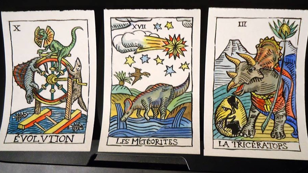 Dinosaures de Marseille Tarot Deck project video thumbnail