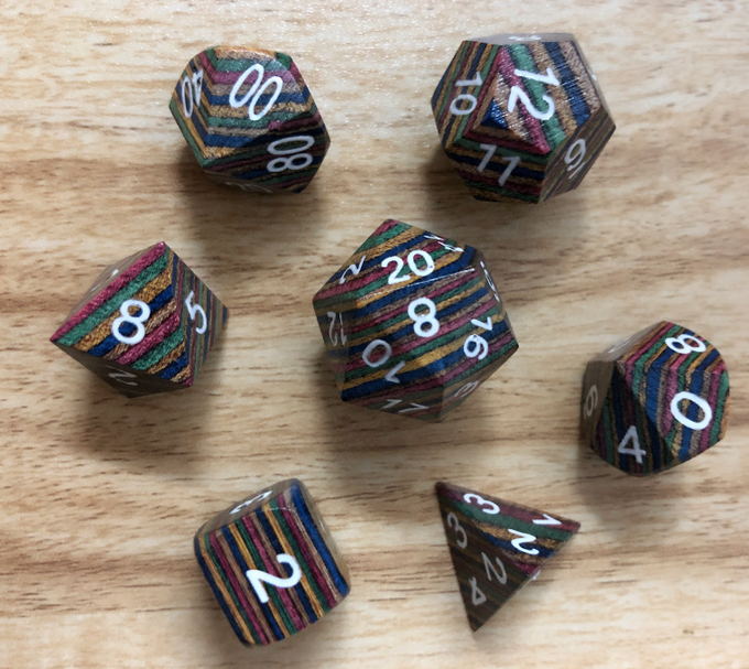At $20,000 we well unlock our wooden pride dice!