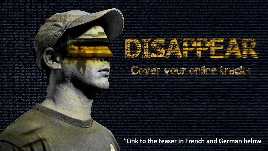 DISAPPEAR - The Documentary project video thumbnail