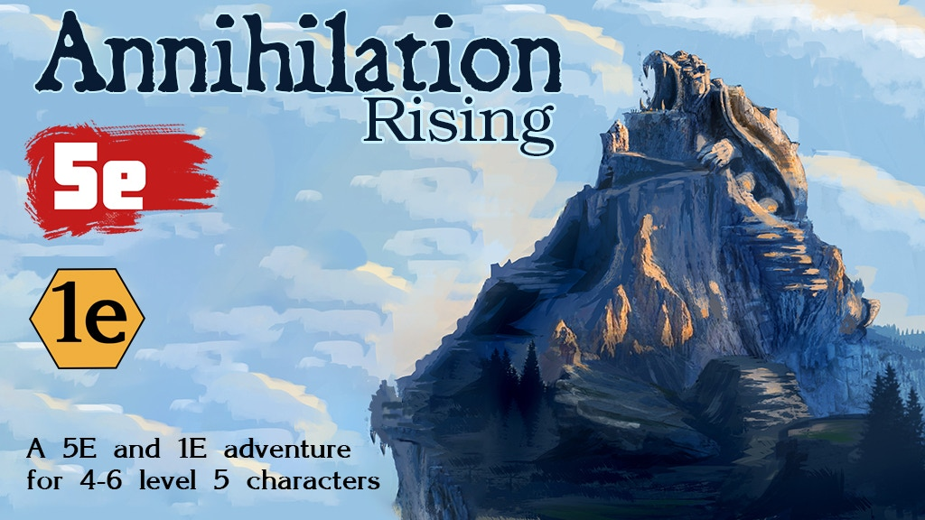 Annihilation Rising 5e and 1e project video thumbnail