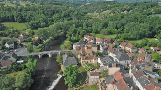 La Celle-Dunoise, a tiny village in central France where whistleblower Annie Machon disappeared for a year. We retraced with her the journey there.