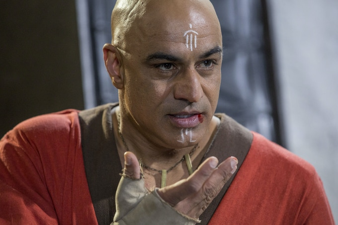 Faran Tahir in Space Command Forgiveness