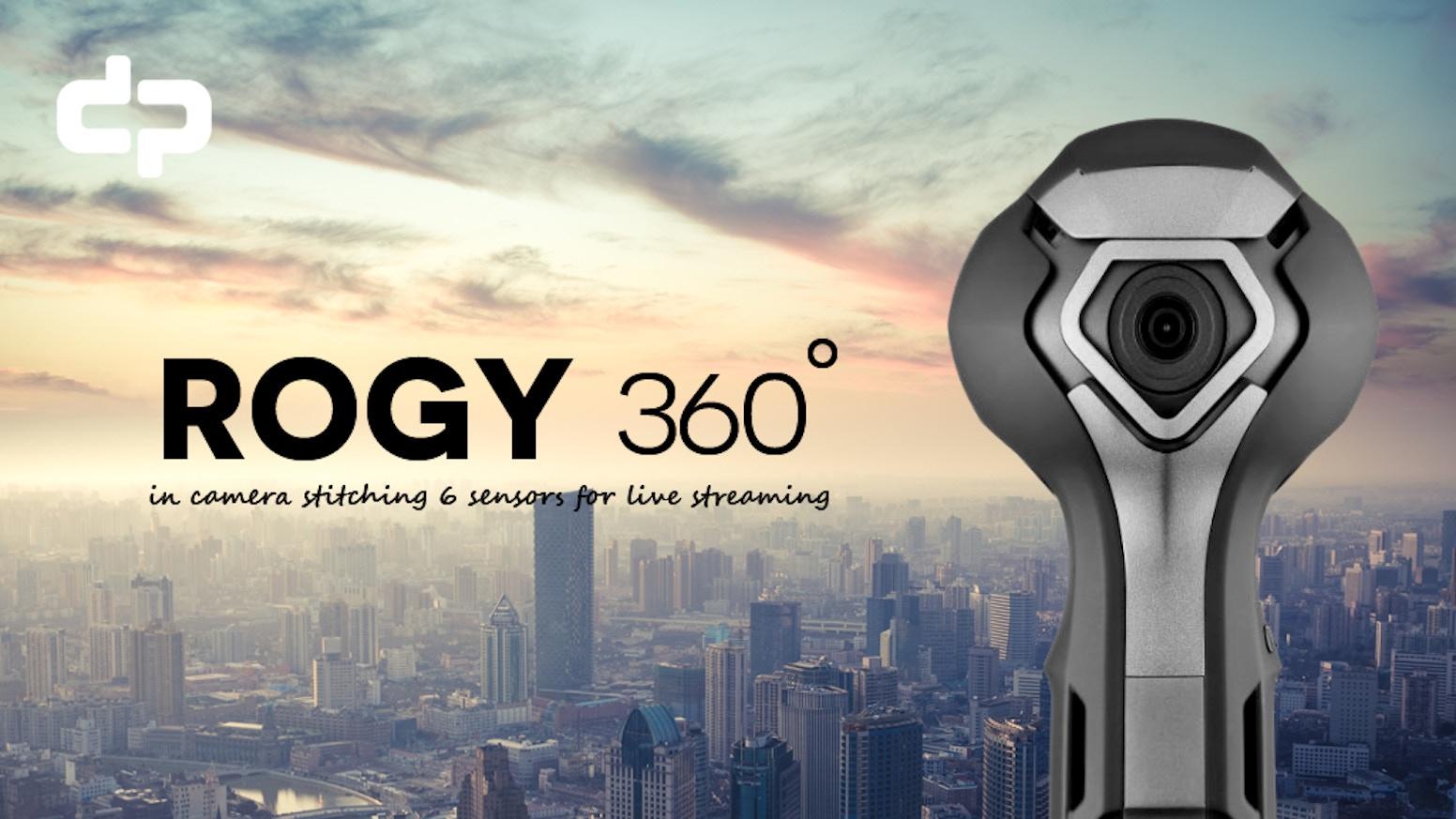 ROGY :Real Time 360º 8K 6 Lens Panoramic Camera by dp