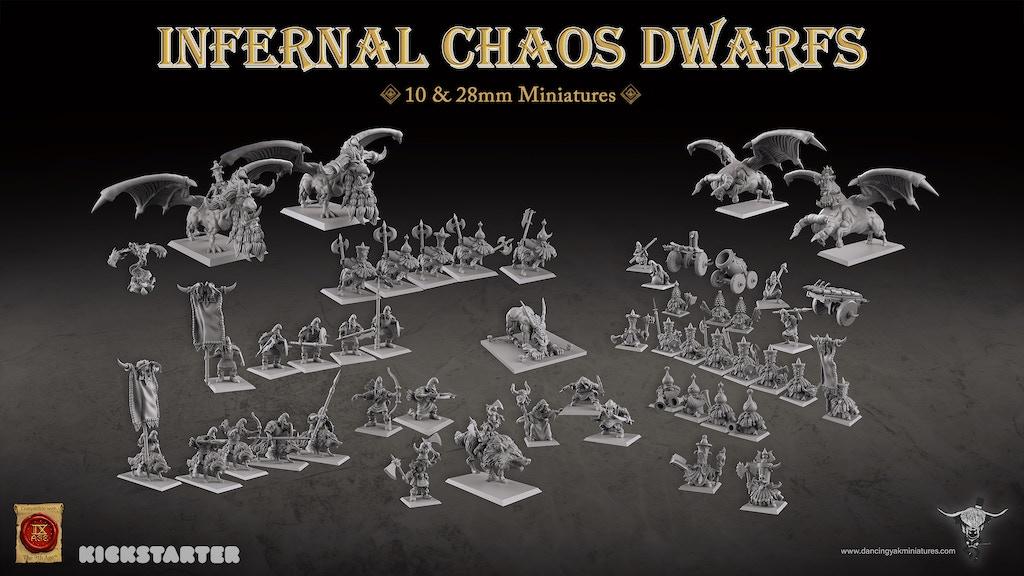 Project image for Infernal Chaos Dwarfs & Hobgoblins Miniatures