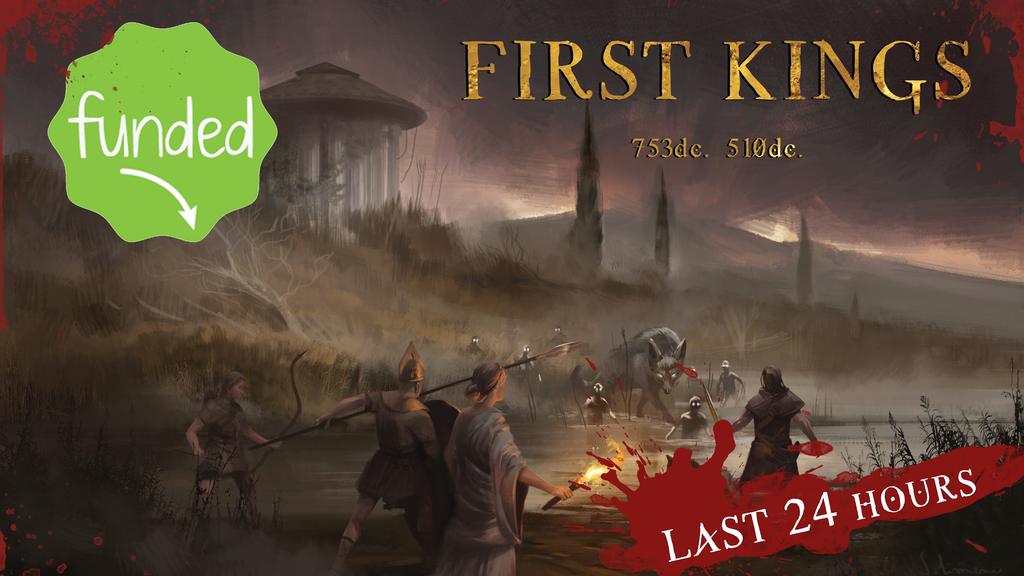 FIRST KINGS (RPG in a Dark Fantasy Rome) project video thumbnail
