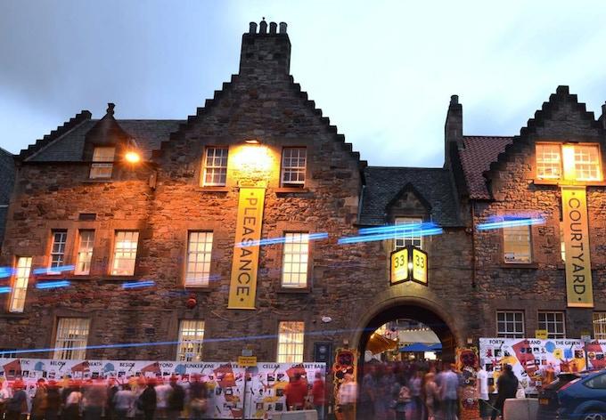 Pleasance Courtyard, our venue in Edinburgh