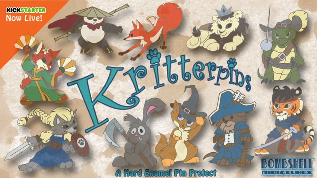 Project image for KritterPins (Canceled)
