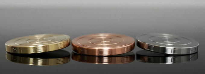 Full collection of three beautiful metals- Brass, Copper and Stainless steel