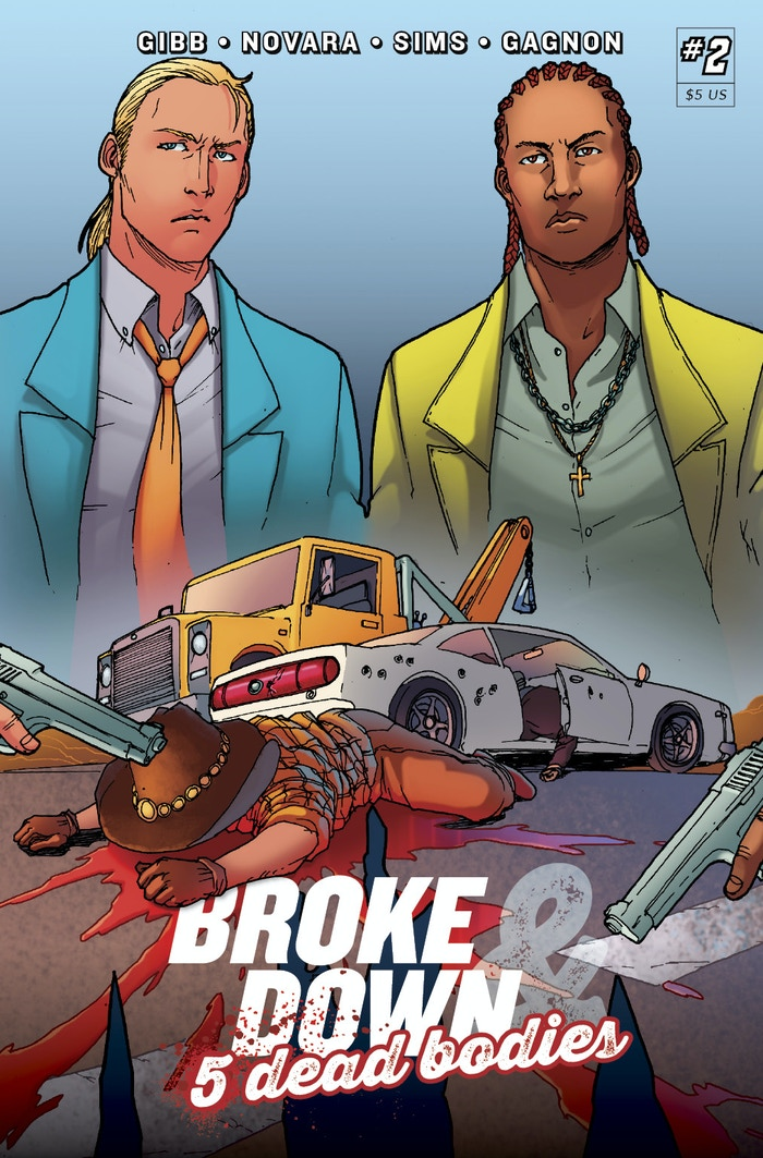 After being set up by Miguel, Randy and Denver are broken down on the side of the road. Violence, Murder, Gangs and Police! ISSUE 2