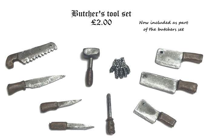 Butcher's tool set (£1,000.00 Stretch Goal - UNLOCKED)