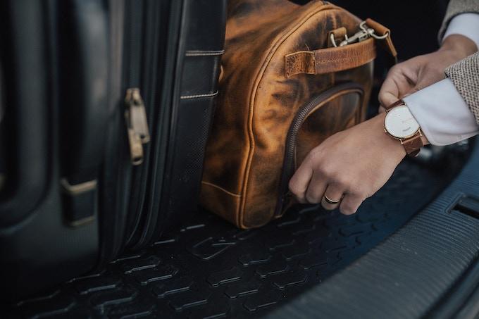 YKK Zippers + Double Wrapped Handle