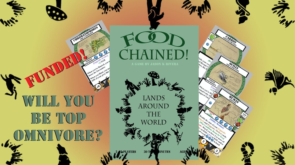 Food Chained! Card Game project video thumbnail