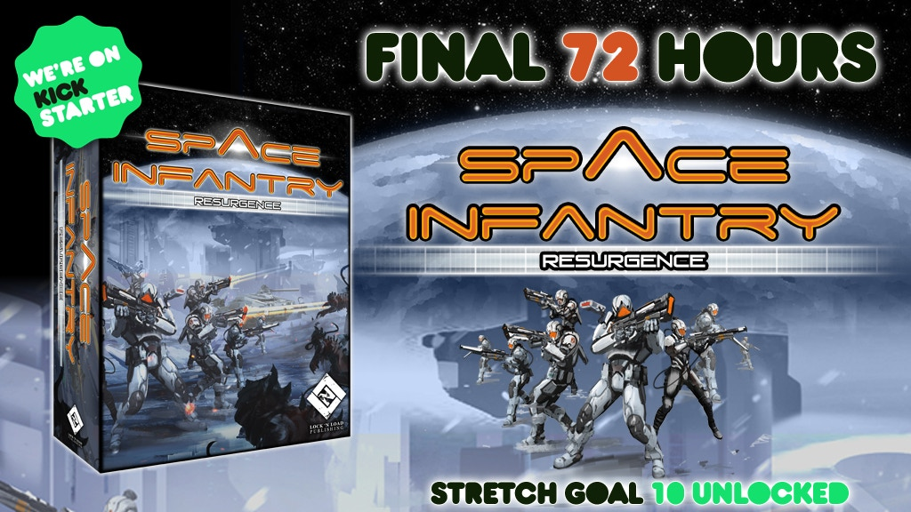 Space Infantry Resurgence project video thumbnail