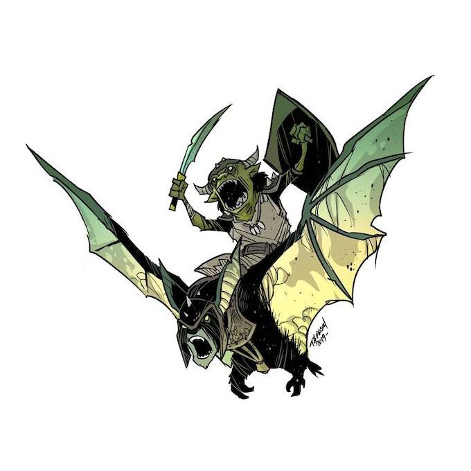 Orc Bat Rider