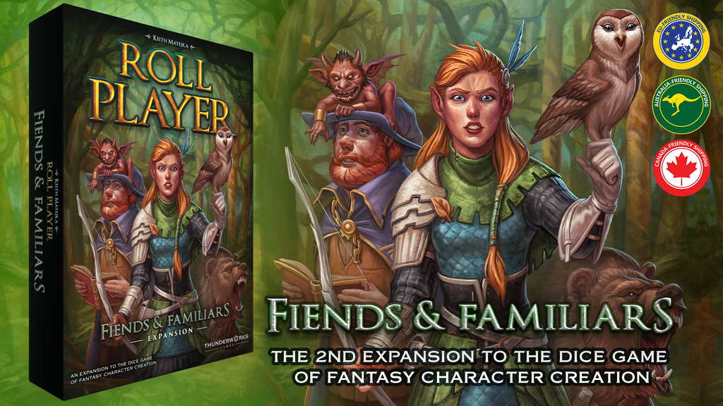 ROLL PLAYER - Fiends & Familiars Expansion project video thumbnail