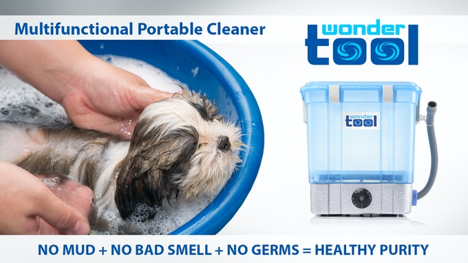 WONDERTOOL™- All in one - Portable Washer & Cleaner w/ Ozone