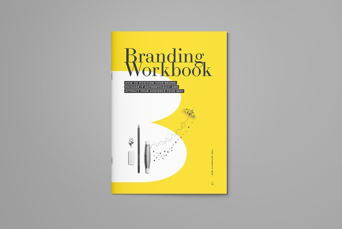 Crystallize it all using this Branding Workbook