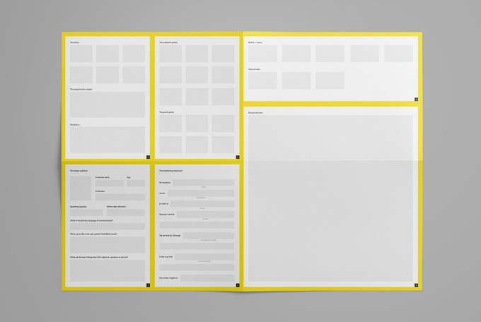 Visualize it all through the A2 Brand Canvas Template
