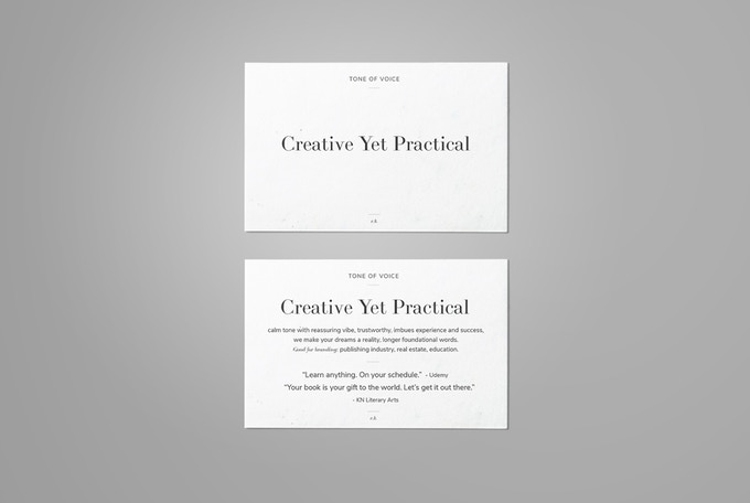The reverse side of each card contains examples.