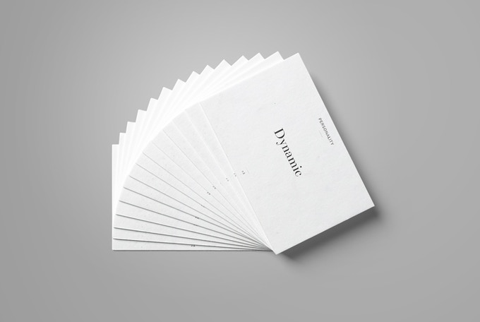 Help a brand take a stand using the brand personality cards.