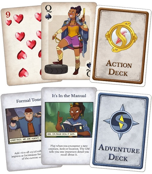 Action and Adventure cards!