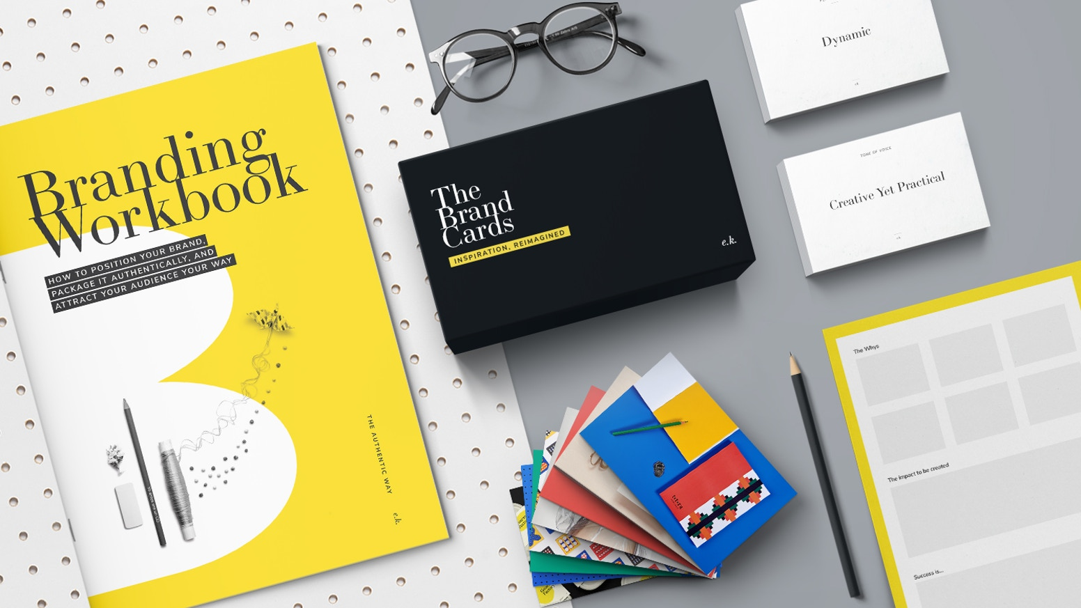 The Brand Strategy Kit enables designers and strategists to facilitate the branding process quickly, playfully, and successfully.