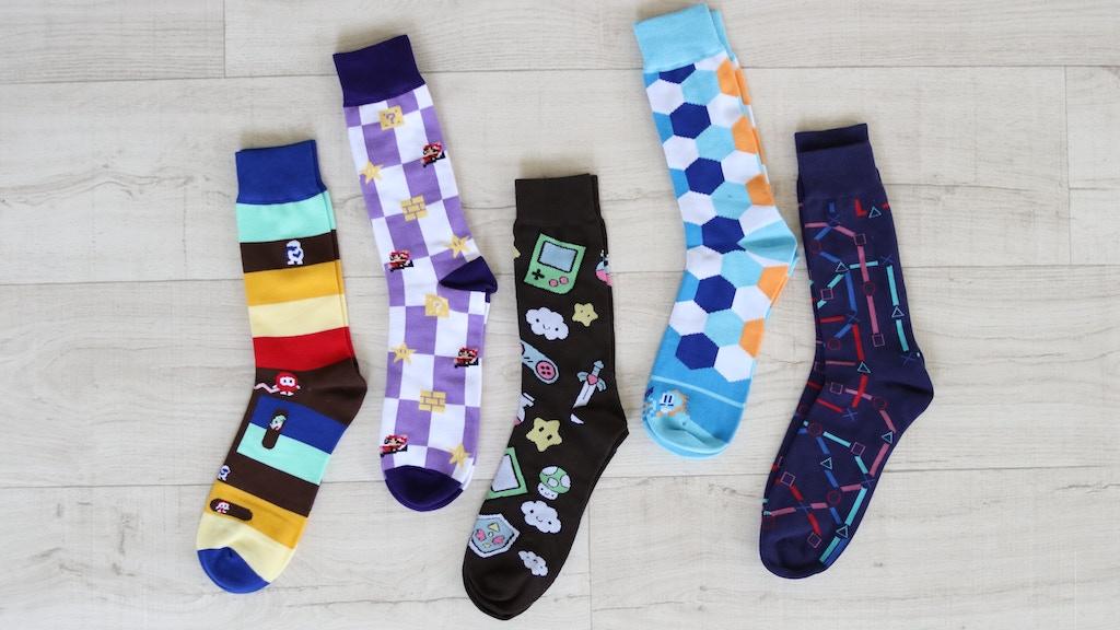 Sock Invaders: Stylish Gamer Socks project video thumbnail