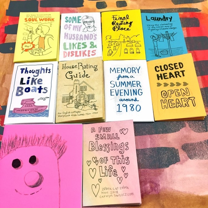 A look at past editions of Zebra Cat Zebra by Carolyn Swiszcz