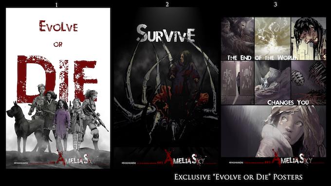 """""""Evolve or Die"""" Posters"""