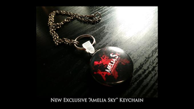 New Amelia Sky Keychain!