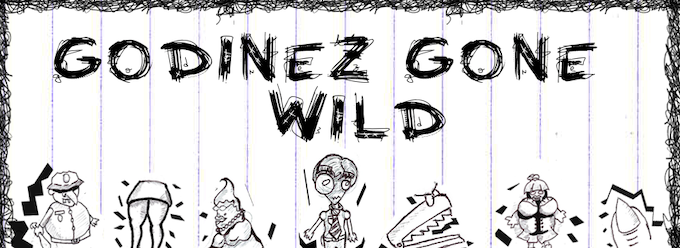 Some character you will meet in Godinez Gone Wild (not final art)