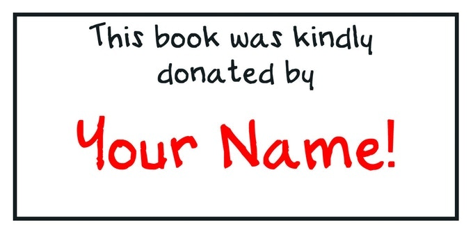 The customized bookplate for PHILANTHROPISTS!