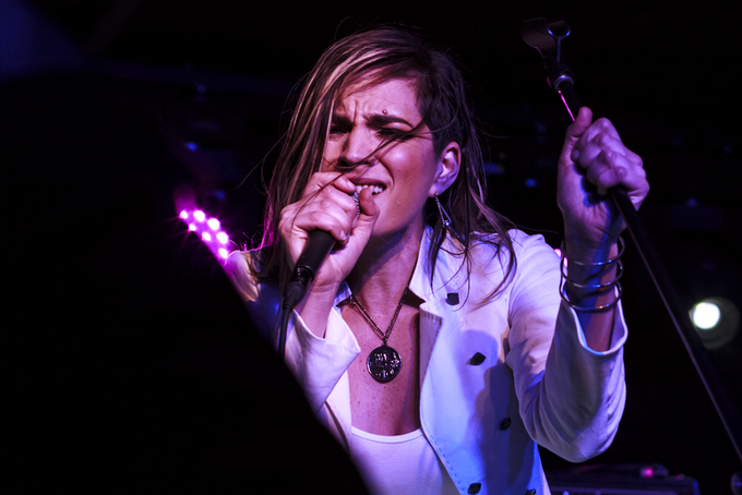 """Singing my heart out at my """"Wake You"""" EP Release Party"""