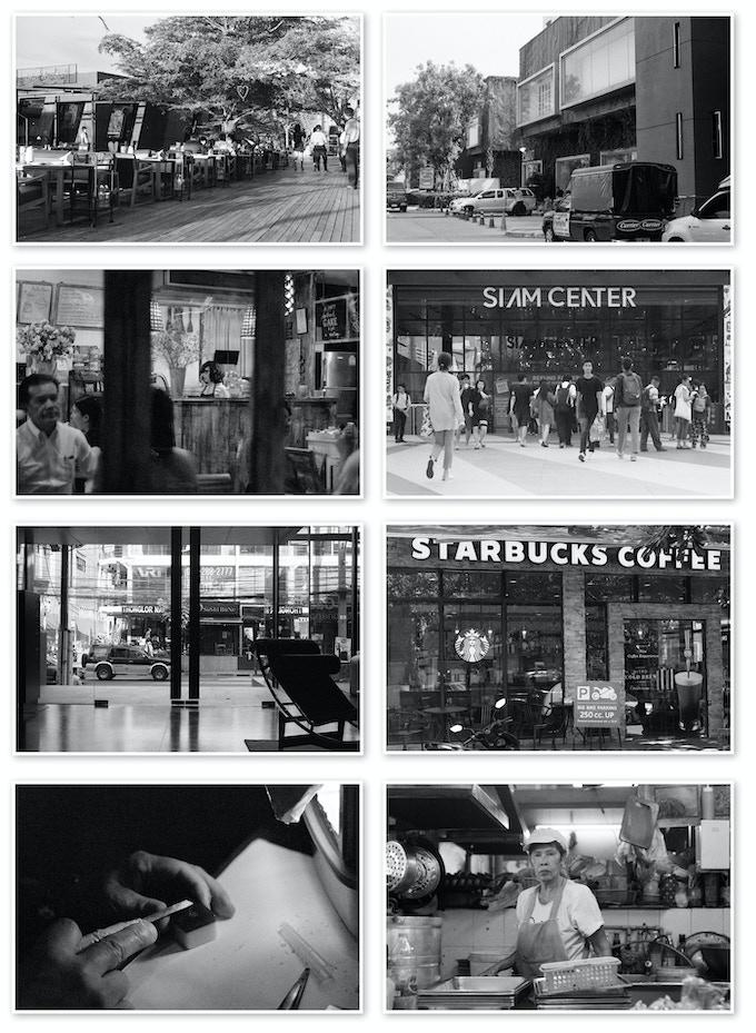 Photo samples of YASHICA Black & White Film