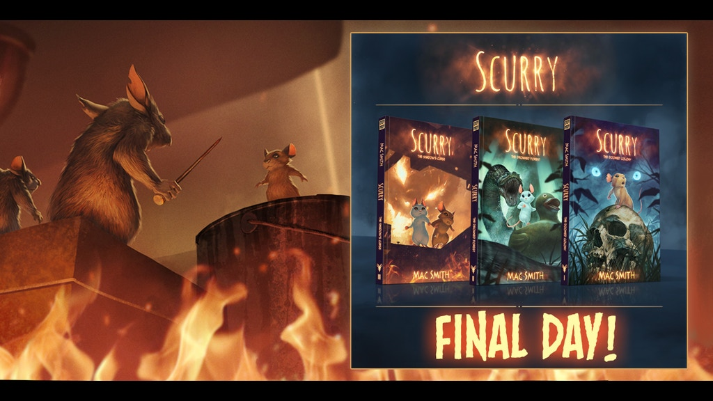 Scurry: The Shadow's Curse - A Post-Apocalyptic Mouse Tale project video thumbnail