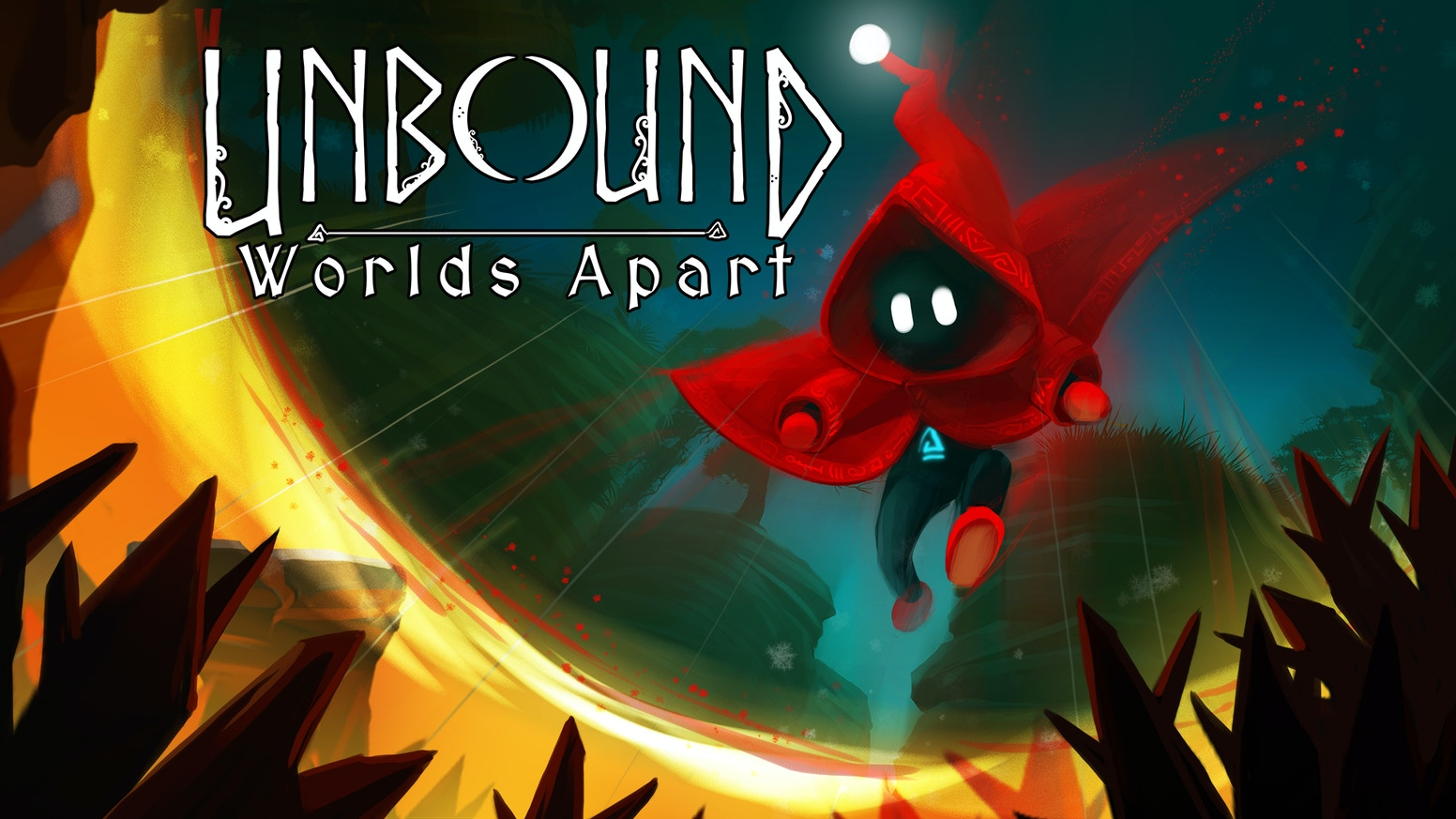 Explore beautiful, hand-crafted worlds by conjuring magic portals.