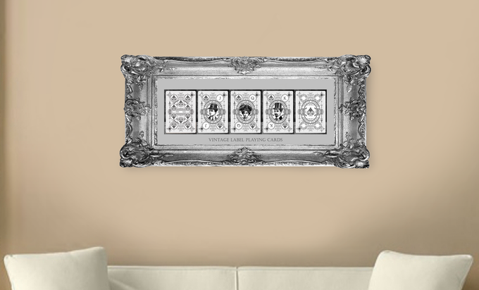 """Giant Signature Edition 5""""x7"""" (127×178mm) customised illustration Royal Flush Card Set [Limited Edition].  Add on $35 AUD for 1 Royal Flush Card Set or $50 AUD for 2 Royal Flush Card Sets (Cards only.  This image is for display purposes only)."""