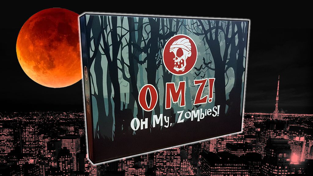 Project image for OMZ! Oh My, Zombies! Card Game
