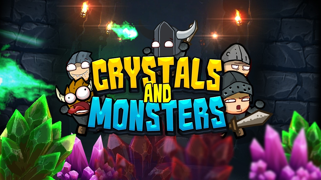 Project image for Crystals And Monsters | Towers Fusion