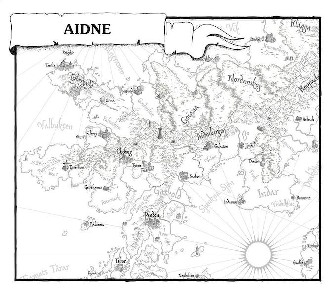 Karta över Aidne.