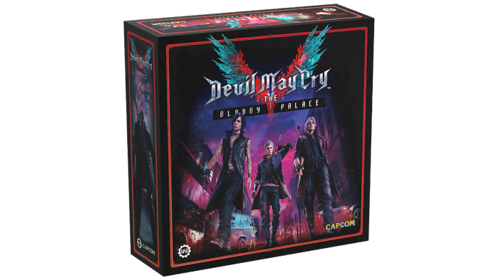A high intensity competitive arena combat miniatures game for 1-4 players, set in the iconic realm of Devil May Cry's Bloody Palace.