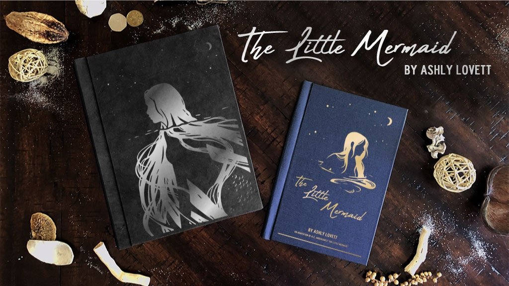 """""""The Little Mermaid"""" Book project video thumbnail"""