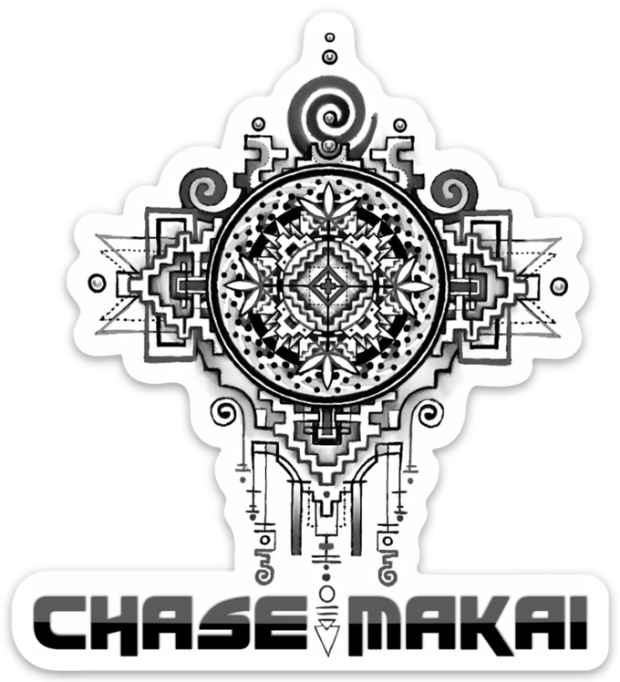 Chase Makai Tattoo Sticker