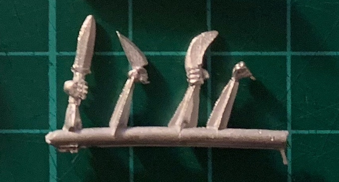 Right Hand sprue