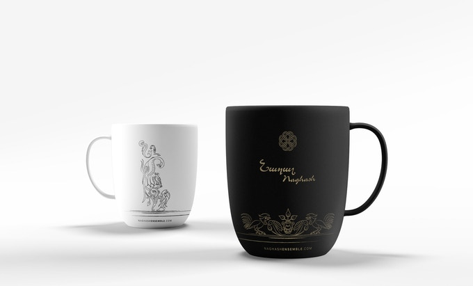 The Naghash Ensemble Coffee Mugs