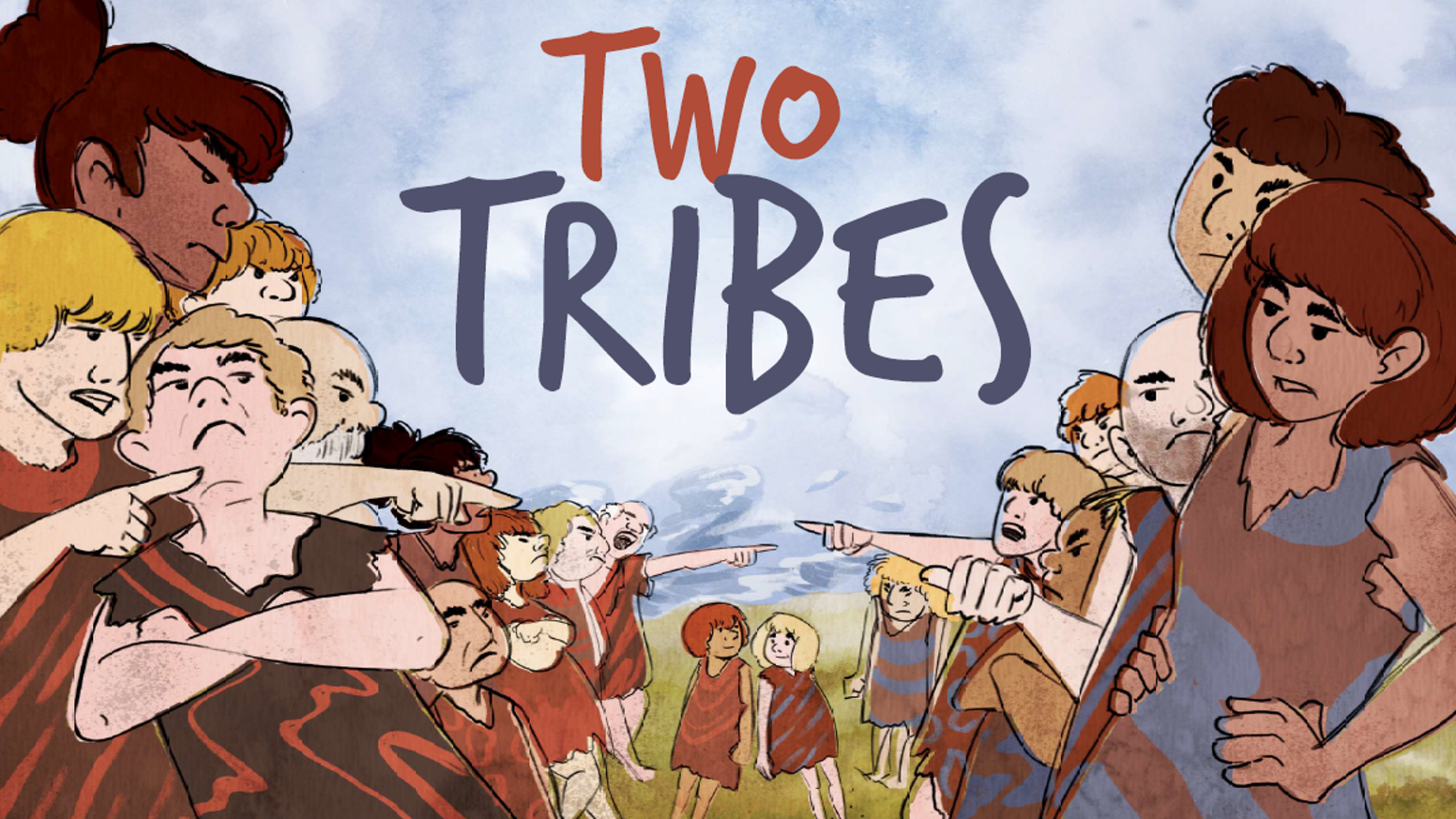 The epic allegory of our left and right-leaning ancestors, Two Tribes is the antidote to political polarization.
