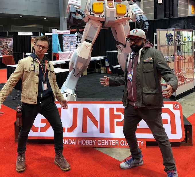 Allen and I at C2E2