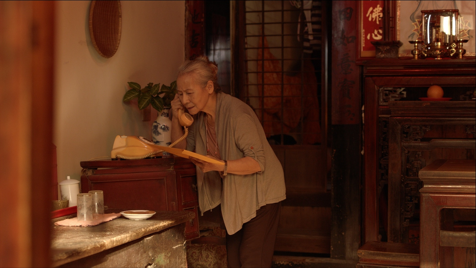 """Ahma & Alan"" is a dramatic short film about a Taiwanese grandma who has to pull her American grandson out of a Taipei jail."
